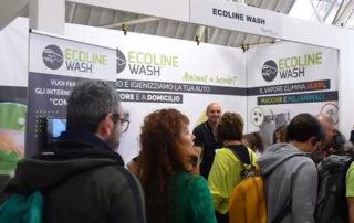 Ecoline Wash presentea Quattro Zampe in fiera a Novegro