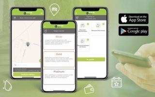 Nuova App ecoline wash disponibile negli store