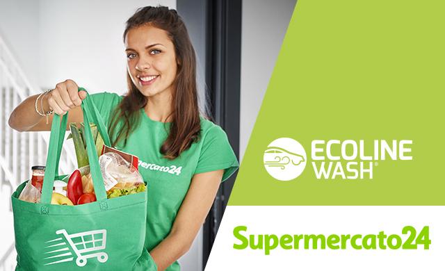 Ecoline Wash insieme a Supermercato 24