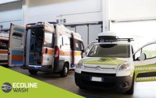 Sanificazione a vapore e ozono per i mezzi di soccorso