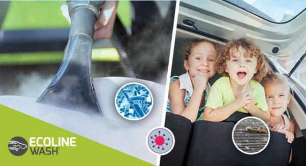 sanificazione auto a vapore