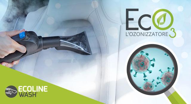 sanificazione con ozono e vapore