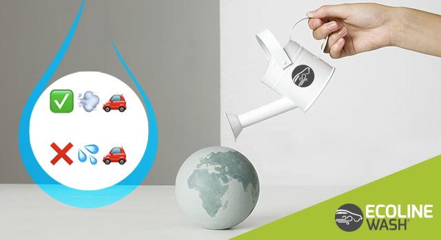 lavaggio auto ecologico e risparmio idrico