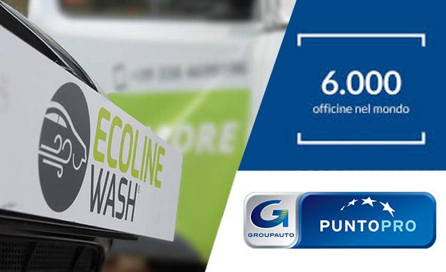 lavaggio auto a vapore gratis per i clienti puntopro di groupauto
